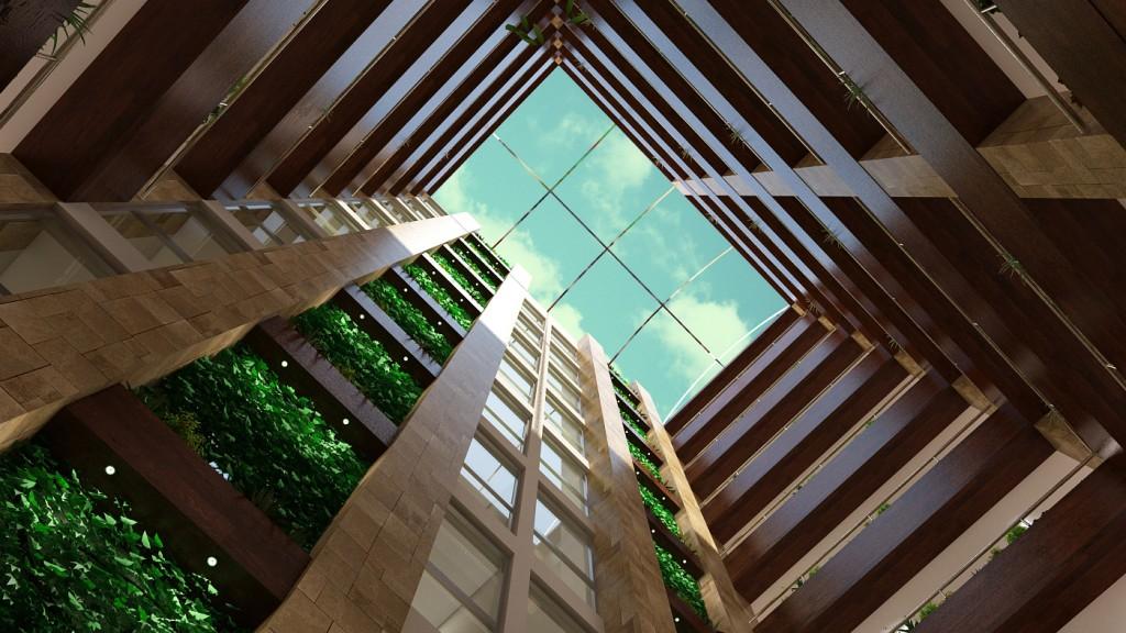 Adora Diamond Garden -Atrium